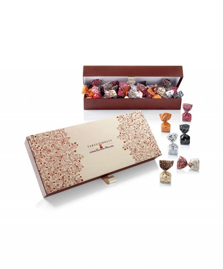 Confezione regalo tartufi dolci assortiti