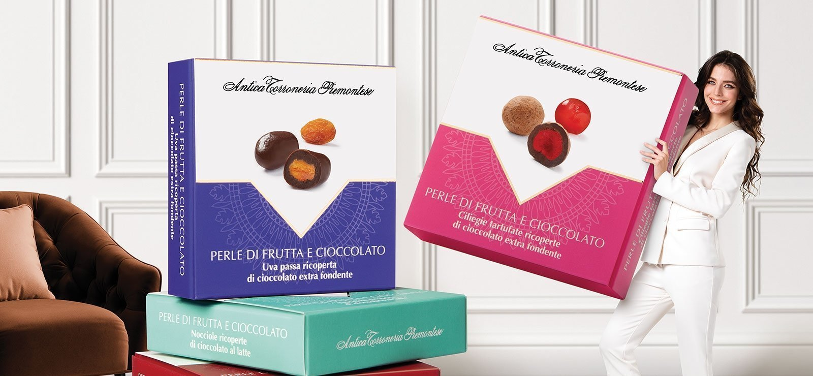 Antica Torroneria Piemontese - Perle di frutta e cioccolato