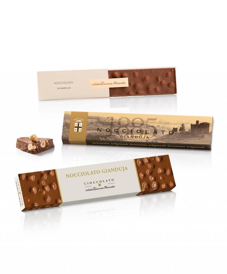 Cioccolato Gianduja in astuccio