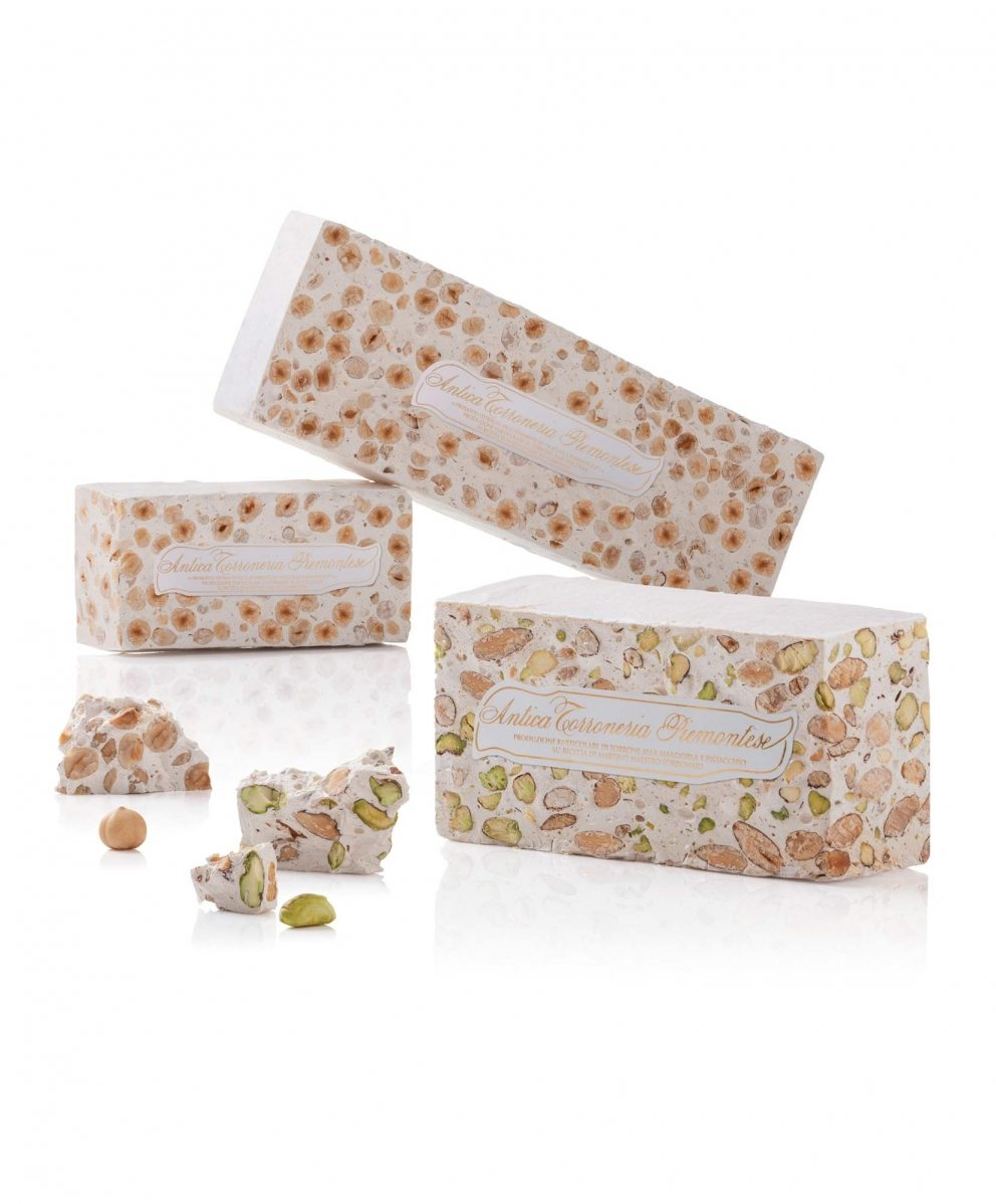 Torrone in blocks