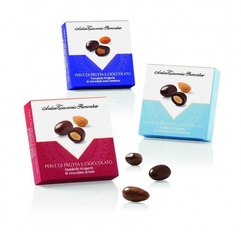 Perle di frutta e cioccolato