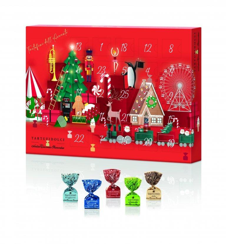 Calendario dell'avvento «Il villaggio di Natale»