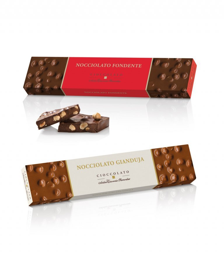 Cioccolato Fondente e Gianduja in astuccio