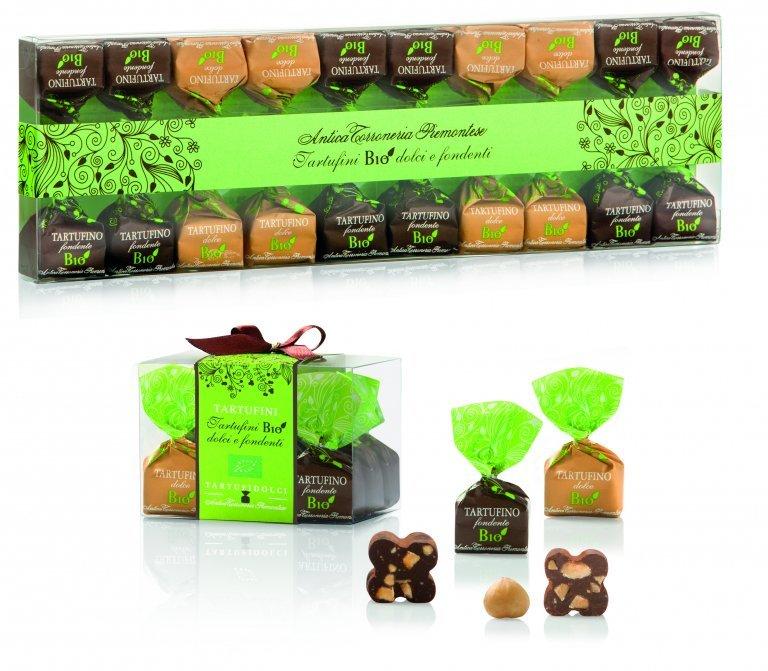 Confezione tartufini BIO fondenti e dolci
